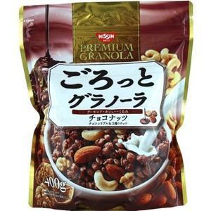 【MA】 日清シスコ ごろっとグラノーラ チョコナッツ (400g) チョコ味のシリアルに、3種のナ...