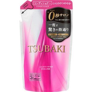 【※ T】 資生堂 TSUBAKI (ツバキ) ふんわりつややかコンディショナー 詰替 (330ml) 素早く浸透し、芯からきれい|scbmitsuokun1972