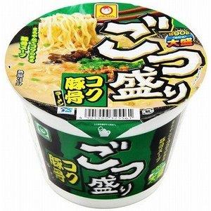 マルちゃん ごつ盛り コク豚骨ラーメン (115g) 麺90g 大盛り! カップラーメン