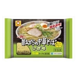 マルちゃん 昔ながらの中華そば しお味 (125g)×70個 チルド食品 しおラーメン|scbmitsuokun1972