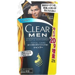 【増量品】 クリア フォーメン トータルケア シャンプー 2...
