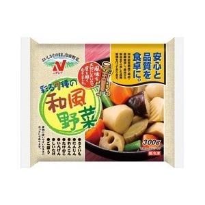 ニチレイ 和風野菜 (300g)×20袋 冷凍食品 ボイル調理 お弁当 おかず 野菜 【M】|scbmitsuokun1972