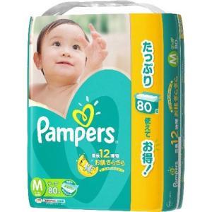 パンパース テープ ウルトラジャンボ Mサイズ (80枚入)...