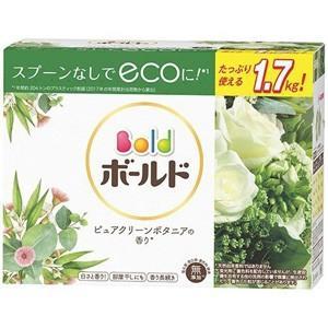 ボールド ピュアクリーンボタニアの香り 本体 ラージサイズ (1.7kg) 洗濯洗剤 粉末|scbmitsuokun1972