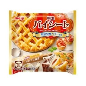 【M 24個セット♪】 明治 パイシート 2枚入 (260g)×24個 冷凍食品|scbmitsuokun1972