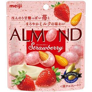 【訳あり 特価】 賞味期限:2021年3月31日 アーモンドチョコレートストロベリー ナッツチョコ (47g) 菓子|scbmitsuokun1972