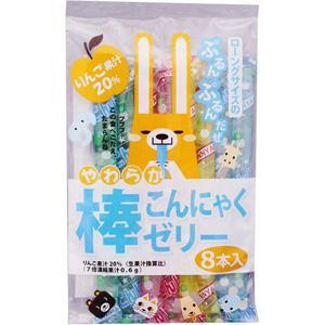【訳あり 特価】 賞味期限:2021年1月8日 ママ やわらか棒 こんにゃくゼリー (8本) 菓子|scbmitsuokun1972