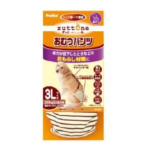【訳あり 特価】 ペティオ zuttone 老犬介護用 おむつパンツ K 3L (1個)|scbmitsuokun1972