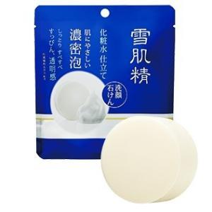 植物由来の石けん成分と、和漢植物エキスたっぷりの化粧水成分からできた洗顔石けんです。 洗い上がりは、...