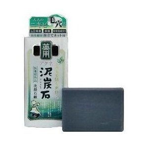 【大特価♪】 ペリカン石鹸  薬用 アクネ泥炭石 (100g) 洗顔石鹸|scbmitsuokun1972