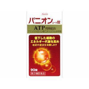 【特価】 パニオン コーワ錠 90錠 【第2類医薬品】 血流改善 ATP エネルギー代謝を高める 錠剤|scbmitsuokun1972