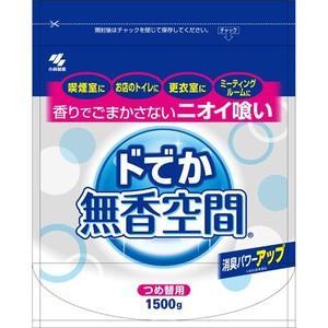 【T】 小林製薬 ドでか 無香空間 つめ替用 (1500g) 消臭剤|scbmitsuokun1972