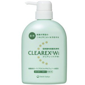 【医薬部外品】【A】 クリアレックスWi 本体 (450ml) 洗って殺菌できる、低刺激・弱酸性の薬...