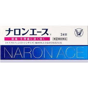 【指定第2類医薬品】 大正製薬 ナロンエースT 24錠