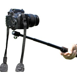 【SCGEHA】カメラ用 じどり棒 一眼レフ デジカメ ビデオカメラ 対応 軽くてこの強度は驚き 自撮り棒 セルカ棒