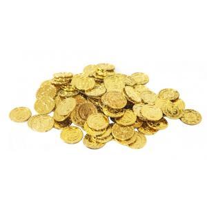【SCGEHA】金貨100枚セット 海賊 パイレーツ 財宝 お宝 秘宝 ゴールド コイン 100枚