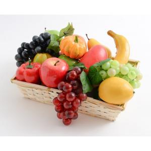 【SCGEHA】まるで本物 フルーツ 野菜 盛り合わせ フェイク イミテーション 食品サンプル オブ...