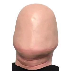 おもしろグッズ マスク フェイスマスク 仮面 ジョークグッズ 男性 かぶりもの ハゲ カツラ コスプレ