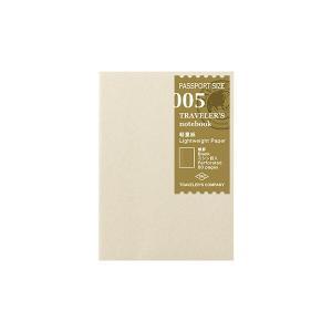 メール便なら送料無料  パスポートサイズのトラベラーズノートに使える、軽量紙のノートリフィルです。 ...