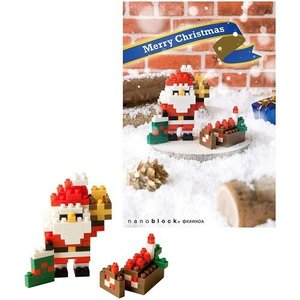 nanoblock クリスマスカード NP069 ナノブロック [01] 〔メール便 送料無料〕