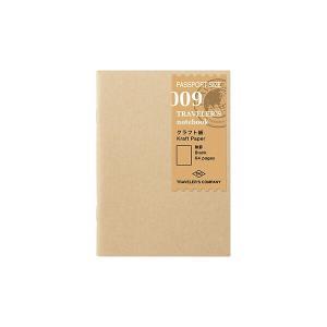 トラベラーズノート パスポートサイズ リフィル クラフト紙 [01] 〔メール便 送料無料〕