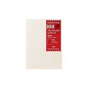 トラベラーズノート パスポートサイズ リフィル 画用紙 [01] 〔メール便 送料無料〕