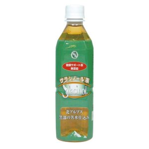 ジャパンヘルス サラシノール健康サポート茶 500ml×24本/無添加なお茶!日常用にもどうぞ!/茶・飲料|scratch