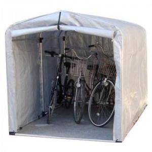 アルミフレーム サイクルハウス 替えシート(ゴムバンド付) 標準シートタイプ/ワイドタイプ 3S-SV用/大切な自転車等を雨やホコリから守ります!/アイデア収納|scratch
