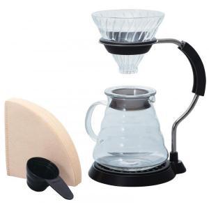 HARIO(ハリオ) V60アームスタンドガラスドリッパーセット VAS-8006-G/おうちでおしゃれにコーヒーをドリップ。/調理小道具・下ごしらえ用品|scratch