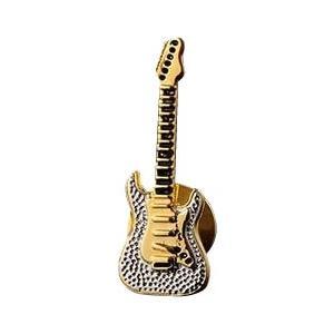 ユニークラペルピン ギター・82100600/胸元をキラキラ飾る、ユニークなラペルピン!/アクセサリー|scratch
