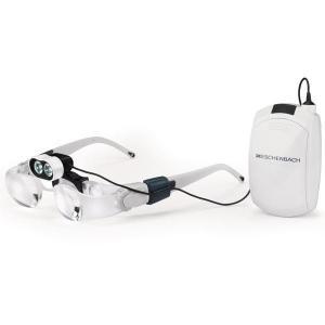 エッシェンバッハ マックス・ディテール&ヘッドライトLEDセット 1624-52/眼鏡タイプの作業用ルーペとLEDライトのセット!!/文具|scratch