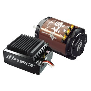 G-FORCE ジーフォース TS90A Drift Combo 10.5T G0205/ESCとドリフト専用モーターをセット!!/玩具|scratch