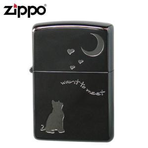 ZIPPO(ジッポー) オイルライター 2CAT-BNA/人気のキャット柄のZIPPO(ジッポー)♪/玩具 scratch