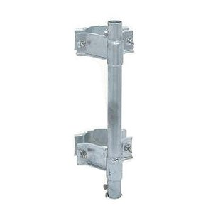 マスプロ電工 マスト用取付金具 SKPM32/住宅用鋼管引込小柱用。/テレビ ・ラジオ|scratch