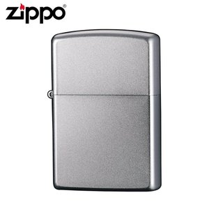 ZIPPO(ジッポー) オイルライター 205 サンドブラッシュ/クロームメッキ仕上げのシンプルなZIPPO(ジッポー)。/玩具|scratch