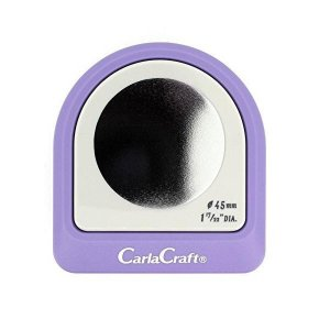 Carla Craft(カーラクラフト) メガジャンボクラフトパンチ サークル45mm CN45003(4100766)/グリーティングカード・イベントの飾りつけに大活躍♪/文具|scratch