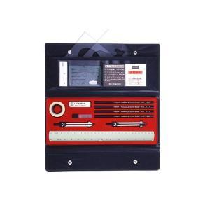 KD型製図器 A-Gセット 1-730-7000/中学生用にぴったりの製図セット。/文具|scratch