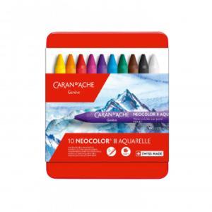 カランダッシュ 7500-310 ネオカラーII 10色セット 618212/イラスト、グラフィックアート、水彩画に最適!/文具 scratch