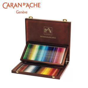 カランダッシュ 3888-480 スプラカラーソフト 80色木箱セット 618248/趣味で楽しまれる方にも最適。/文具 scratch
