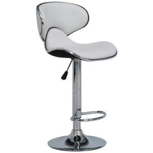 カウンターチェア シェル ホワイト 80915/腰あたりの良い、おしゃれなバーチェア。/家具 イス テーブル|scratch