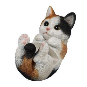 スマホスタンド 寝転びタイプ 三毛猫 G-5176N/可愛いネコのスマホスタンド☆/PC・携帯関連 scratch