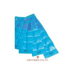 ファーストレイト FR  重錘バンド(16×52.5cm) 3.0kg ライトブルー E-915/装備に便利なマジックベルト付きです!!/衛生用品 scratch