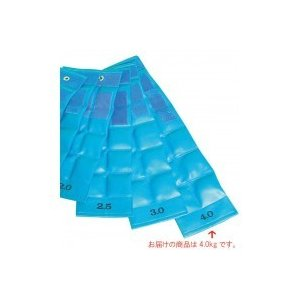 ファーストレイト FR  重錘バンド(17×61cm) 4.0kg ライトブルー E-916/装備に便利なマジックベルト付きです!!/衛生用品 scratch