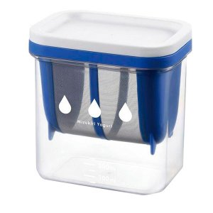 水切りヨーグルトができる容器 ST-3000/ヨーグルトを美味しくアレンジ♪/容器・ストッカー・調味料容器|scratch