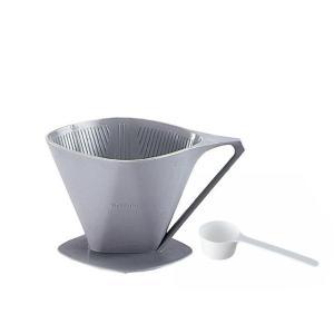 bonmac プラスティック製コーヒードリッパー 4〜6杯用 CD-4DX/ハンドドリップの楽しさとおいしさを支える脇役たち。/調理小道具・下ごしらえ用品|scratch