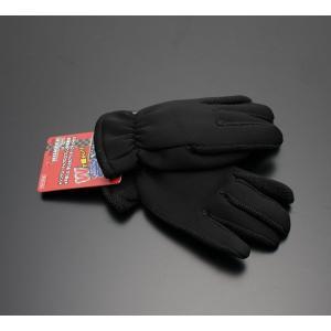 【メール便】軽量温暖 ウィンター グローブ ブラック バイク 防寒 手袋 3Mシンサレート×クロロプレンゴム screate