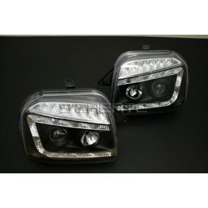 ジムニー(JB23) LED プロジェクターヘッドライト(ブラック)|screate