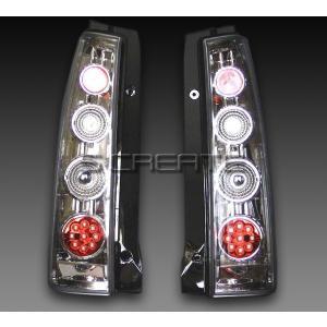 ワゴンR (MH21S) LEDスーパーユーロテールランプ 【メッキタイプ】|screate