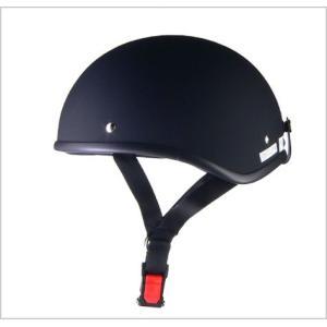 【リード工業】 D'LOOSE D-355 ハーフヘルメット マットブラック /LEAD 半帽 半ヘ...