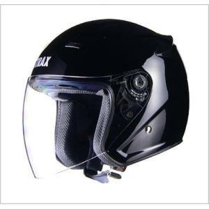 【リード工業】 STRAX SJ-8 ジェットヘルメット ブラック /LEAD ストラックス